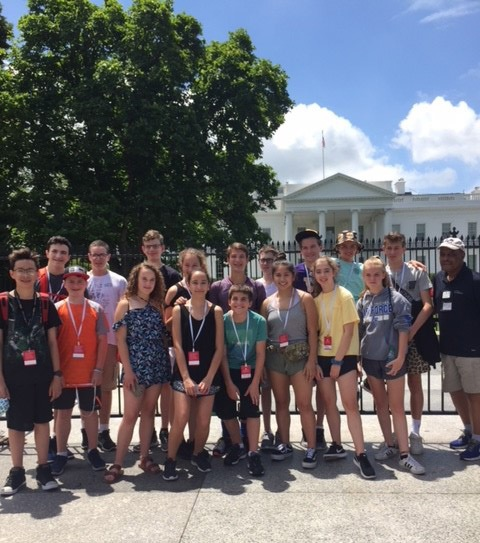 HFK School Washington DC annual trip