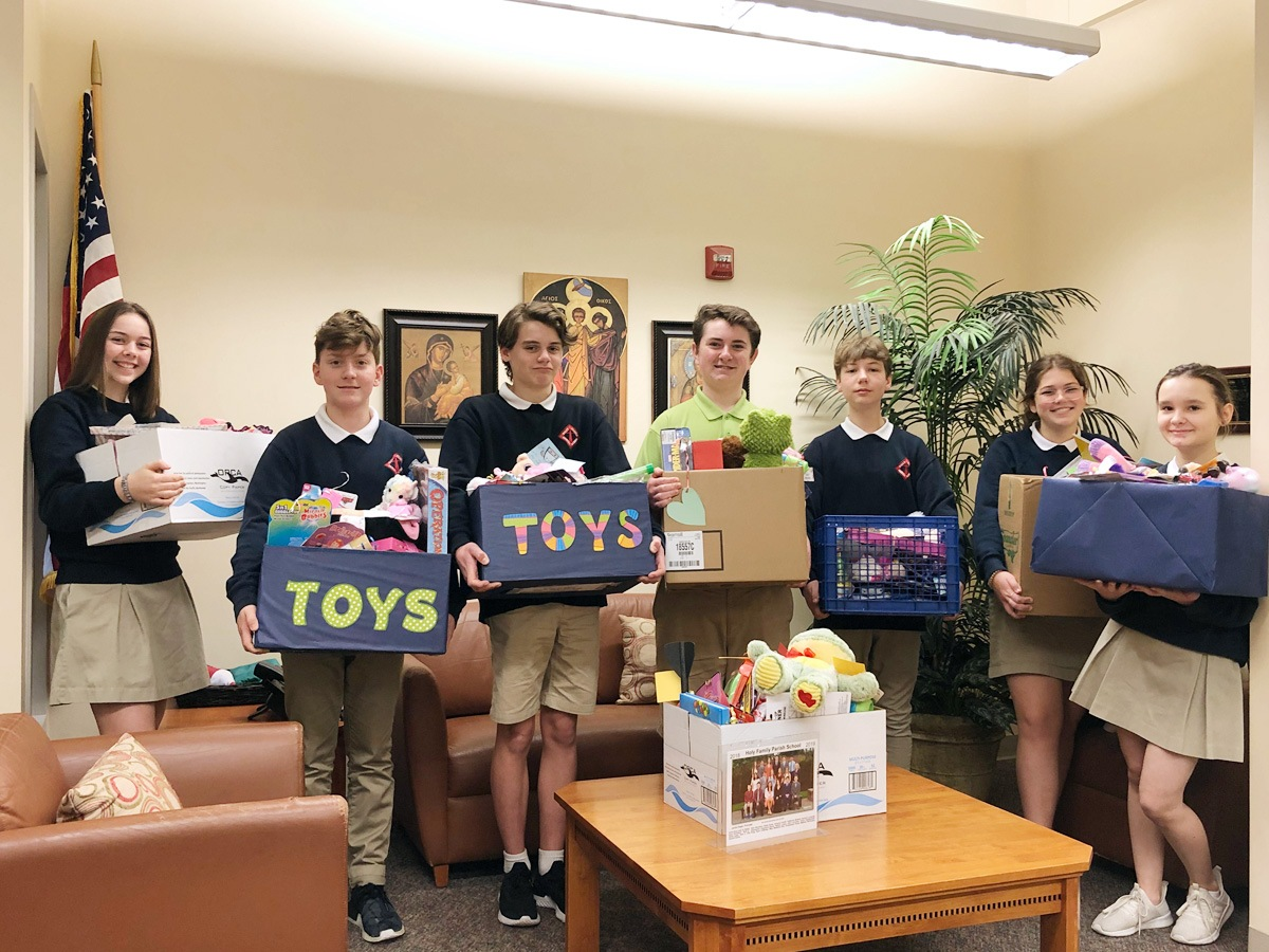 HFK School students give back to the community